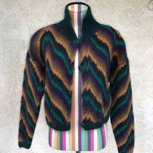 Linda Allard for Ellen Tracy Fuzzy Sweater
